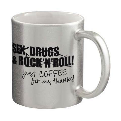 Sex, Drugs and Rock´n`Roll silber