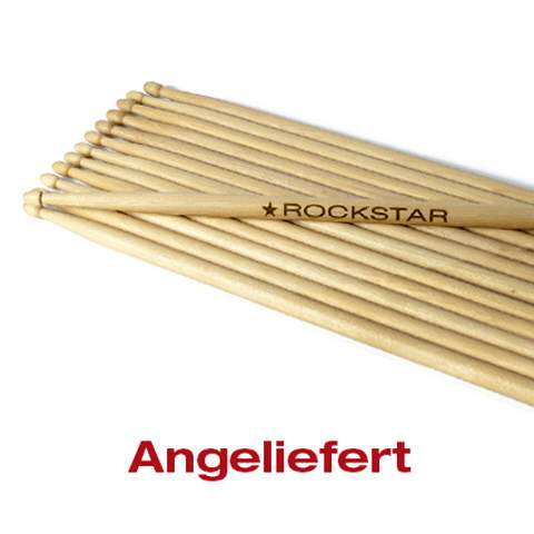 Drumsticks angeliefert