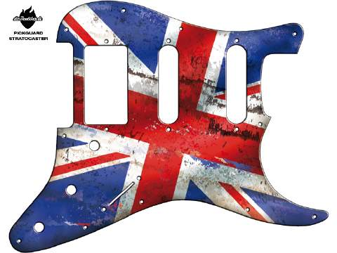 Design Pickguard - Flag Britain