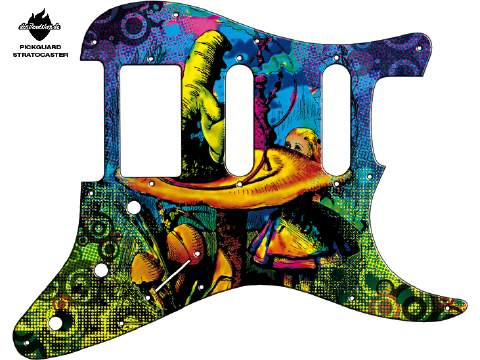 Design Pickguard - Alice - Stratocaster