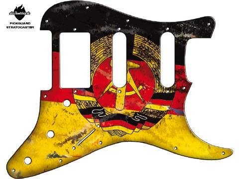 Design Pickguard - Flag German east