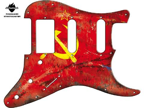 Design Pickguard - Flag USSR