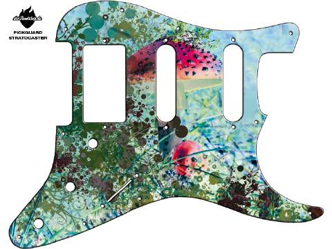 Design Pickguard - Forest