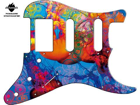 Design Pickguard - Jellyfish