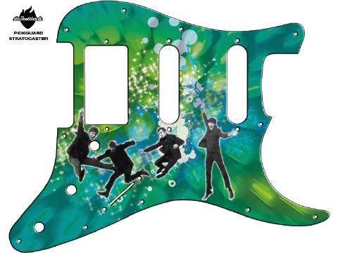Design Pickguard - Jump Green