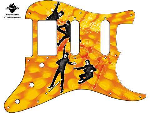 Design Pickguard - Jump Yellow