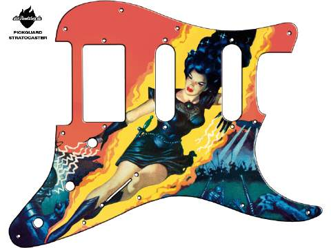 Design Pickguard - Goddess