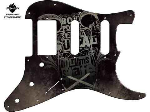 Design Pickguard - Powerstation