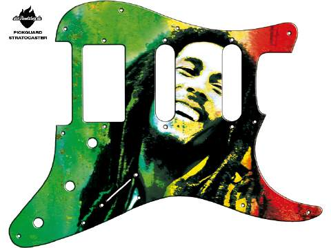 Design Pickguard - Reggae