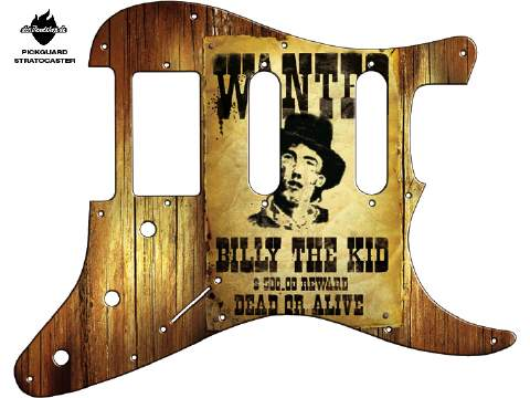 Design Pickguard - Wanted