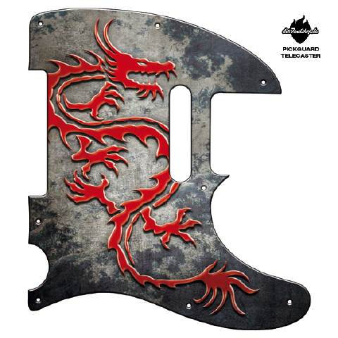 Design Pickguard - Dragon - Telecaster