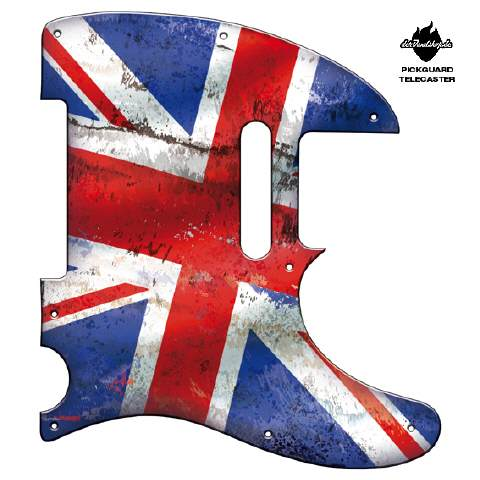 Design Pickguard - Flag Britain - Telecaster