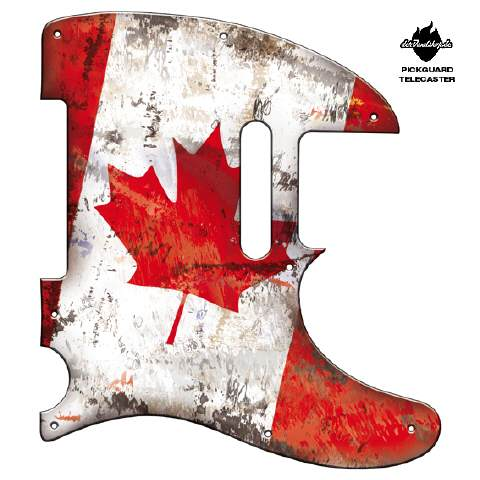 Design Pickguard - Flag Canada