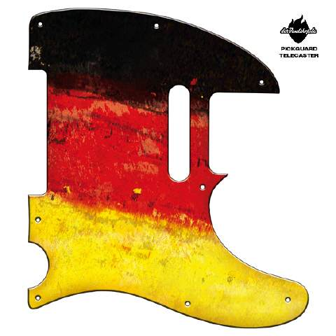 Design Pickguard - Flag Germany