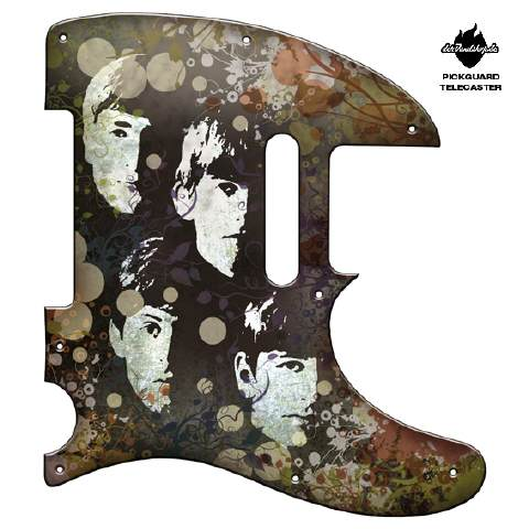Design Pickguard - Heads Vintage