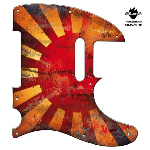 Design Pickguard - Bloody sun