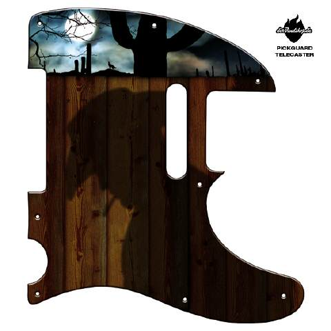 Design Pickguard - Full Moon - Telecaster