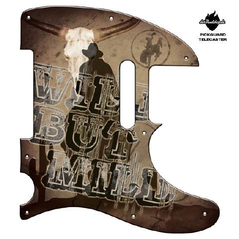 Design Pickguard - Wild but Mild