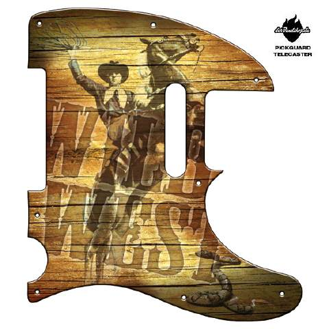 Design Pickguard - Wild West