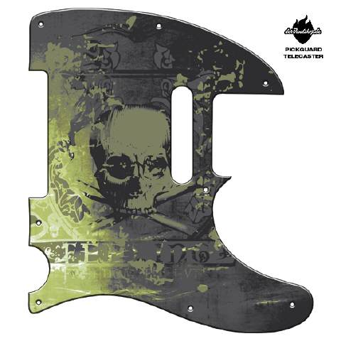 Design Pickguard - Feeling Grey