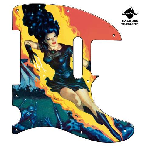Design Pickguard - Goddess - Telecaster