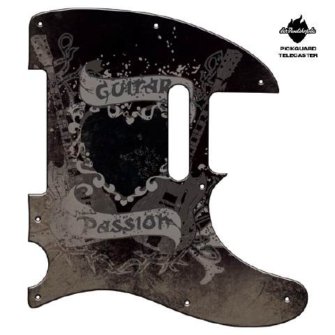 Design Pickguard - Guitar passion