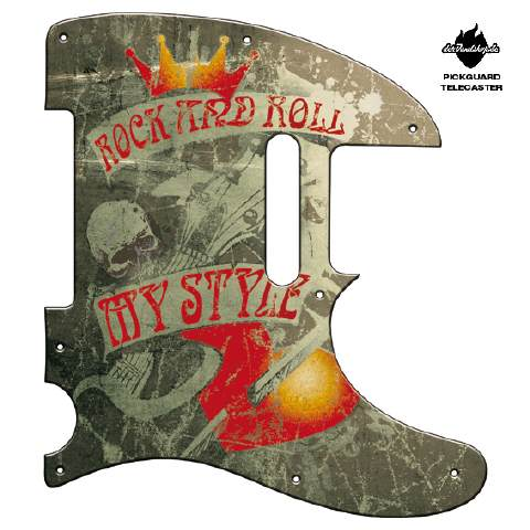 Design Pickguard - my style - Telecaster