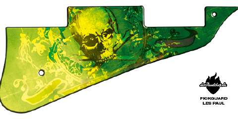 Design Pickguard - Feeling Green