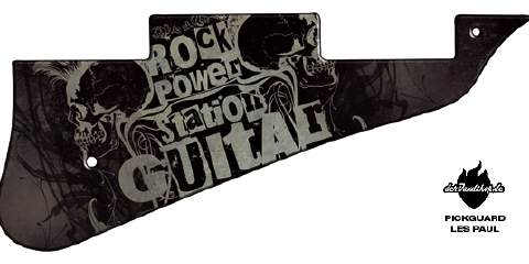 Design Pickguard - Powerstation - Les Paul
