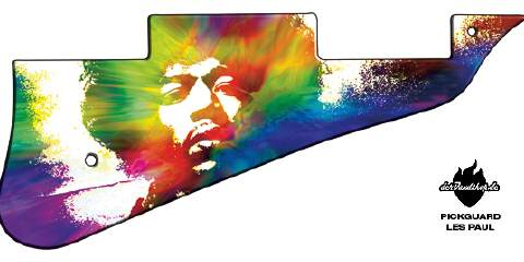 Design Pickguard - Jimi x - Les Paul