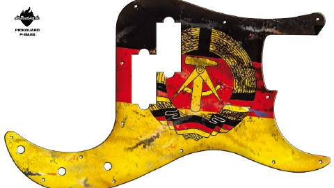 Design Pickguard - German East - P-Bass