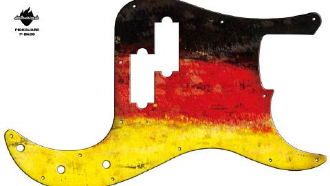 Design Pickguard - Germany - P-Bass