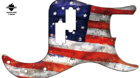 Design Pickguard - USA - P-Bass