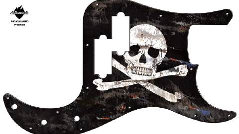 Design Pickguard - Pirate - P-Bass