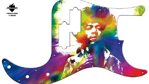 Design Pickguard - Jimi-x - P-Bass