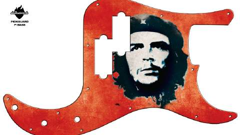 Design Pickguard - Che - P-Bass