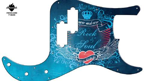 Design Pickguard - Forever - P-Bass