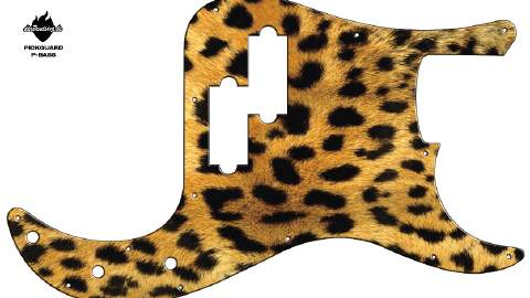 Design Pickguard - Gepard - P-Bass