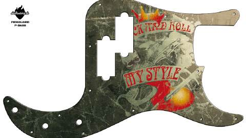 Design Pickguard - my style - P-Bass