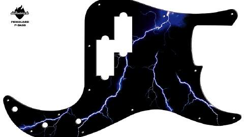 Design Pickguard - Blizz - P-Bass