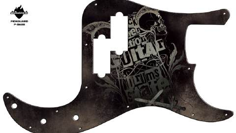 Design Pickguard - Powerstation - P-Bass