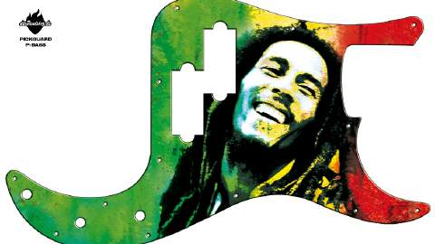 Design Pickguard - Reggae - P-Bass