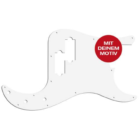Custom Design Pickguard P-Bass