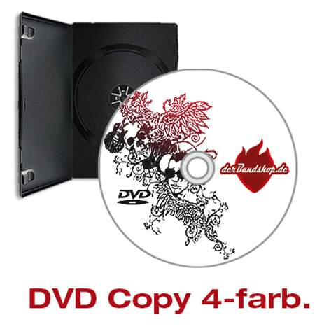 DVD-Produktion mit 4-farb Labeldruck