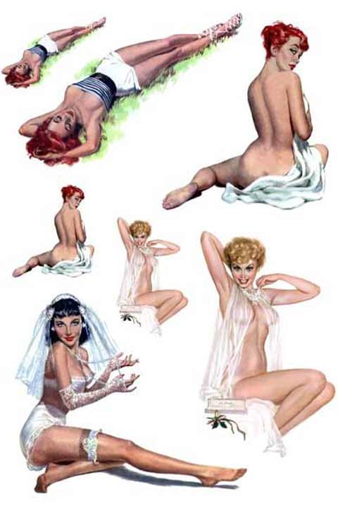 Waterslide Decal - Pin-Up Themes 4