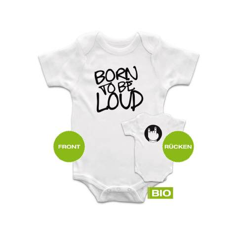 Baby Strampler ITs nevertoo early black